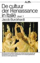 Jacob  Burckhardt Cultuur der Renaissance in Italië