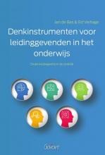 Ed Verhage Jan de Bas, Denkinstrumenten voor leidinggevenden in het onderwijs