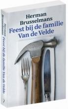 Herman  Brusselmans Feest bij de familie Van de Velde