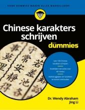 Jing Li Dr. Wendy Abraham, Chinese karakters schrijven voor Dummies