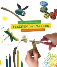 Saskia  Koper, Barbara  Rijpkema Tekenen met takken - knutselboek, knutselen met kinderen