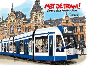 Trudy  Admiraal Met de tram!