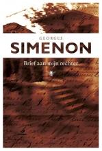 Georges  Simenon Brief aan mijn rechter