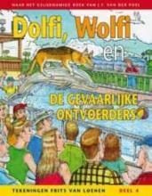 J.F. van der Poel Dolfi en Wolfi en de gevaarlijke ontvoerders, stripboek (deel 4)