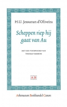H.U.  Jessurun d`Oliveira Athenaeum Boekhandel Canon Scheppen riep hij gaat van Au