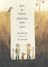 Barnett, Mac Bas en Daan graven een gat