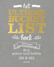Elise De Rijck , Het ultieme Bucketlist Boek