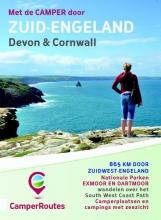 Mike  Bisschops Met de camper door Zuid-Engeland Kustroute Devon & Cornwall