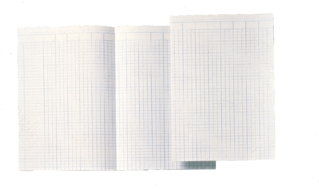 ,Accountantspapier dubbel folio 14 kolommen 100vel