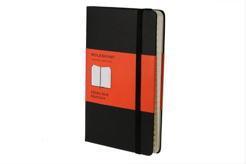 ,Moleskine Pocket Address book/Repertoire