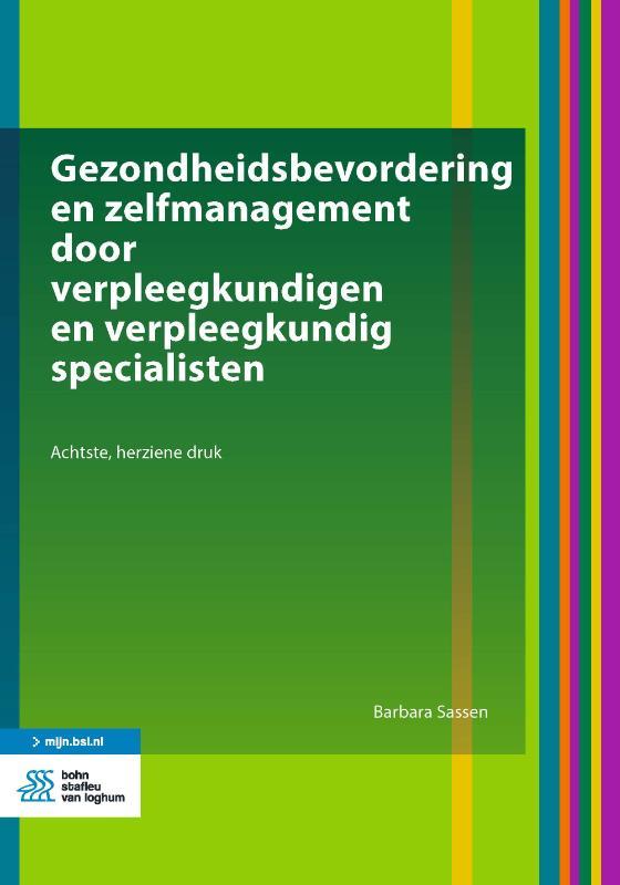 Barbara Sassen,Gezondheidsbevordering en zelfmanagement door verpleegkundigen en verpleegkundig specialisten