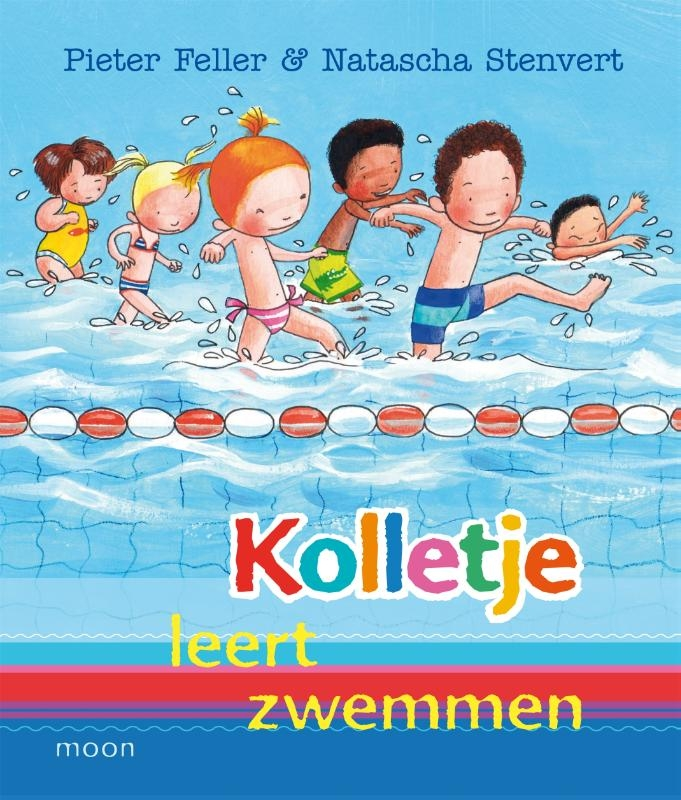 Pieter Feller,Kolletje leert zwemmen