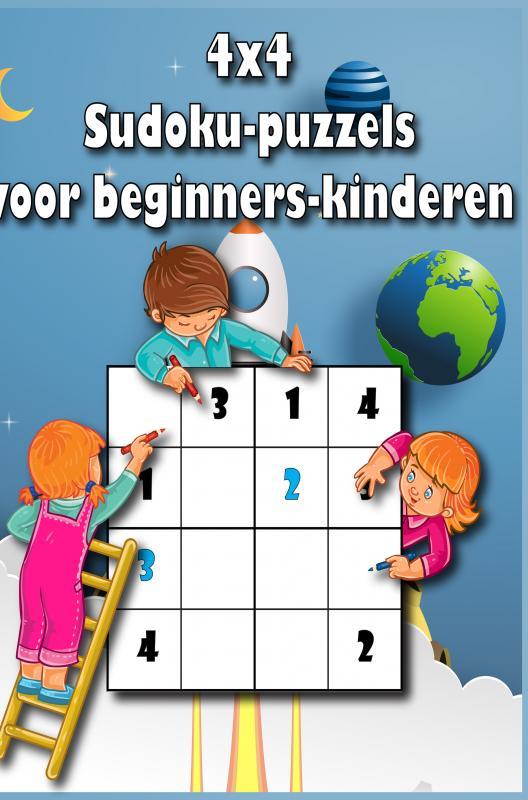 Eelke Tjerksma,4x4 sudoku puzzels voor kinderen
