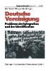 ,Deutsche Vereinigung Probleme der Integration und der Identifikation