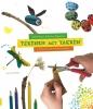Saskia  Koper, Barbara  Rijpkema, ,Tekenen met takken - knutselboek, knutselen met kinderen