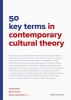 <b>Joost de Bloois, Stijn De Cauwer</b>,50 key terms in contemporary cultural theory