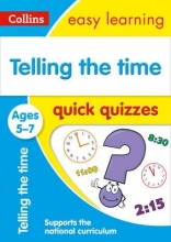 Collins Easy Learning Telling the Time Quick Quizzes Ages 5-7