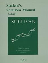 Michael Sullivan Student`s Solutions Manual for Trigonometry