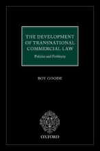 Goode, Roy The Development of Transnational Commercial Law