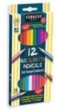 Pencil/12 Ct. Bi-color Colored