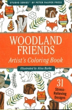 Color Bk Small Woodland Friends