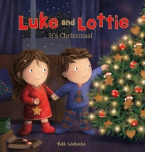 Ruth Wielockx, Luke and Lottie. It`s Christmas!
