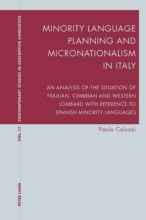 Paolo Coluzzi Minority Language Planning and Micronationalism in Italy