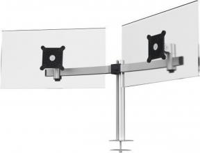 , Monitorarm Durable met bladdoorvoer voor 2 schermen