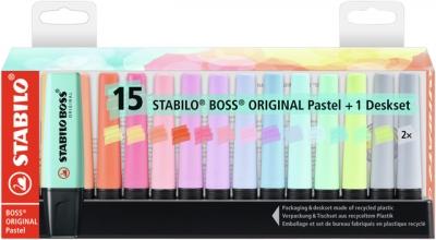 , Markeerstift Stabilo Boss Original 7015-02-5 desk pastel ass