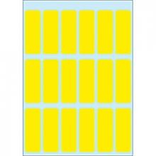 , Etiket Herma 3651 12x34mm geel 90stuks