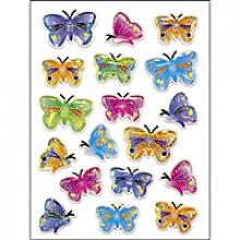, Etiket Herma vlinder stone