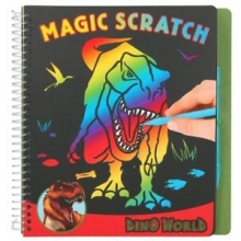 10363 a Dino world magic-scratch book