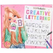 10903 a , Topmodel creative lettering kleurboek