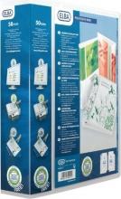 , Presentatieringband Oxford  Polyvision Maxi A4 XL 4-rings D-mech 50mm transparant