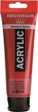 , Talens amsterdam acrylverf tube 120 ml. naftolrood donker 399