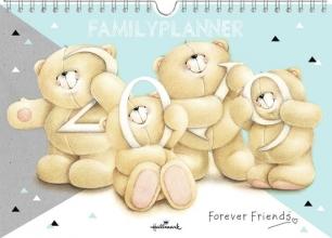 Familieplanner 2019 week forever friends