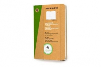 Pocket Squared Kraft Soft Evernote Journal With Smart Sticke