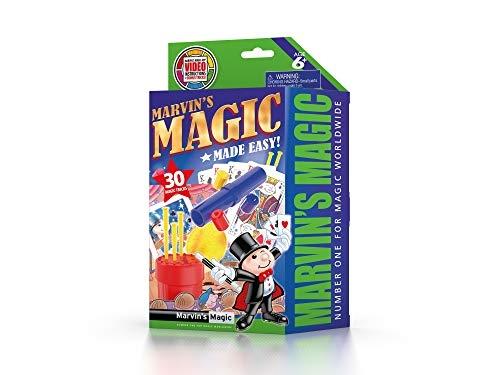 Mar-mme3012,Marvin`s magic made easy - 30 magic tricks - groen