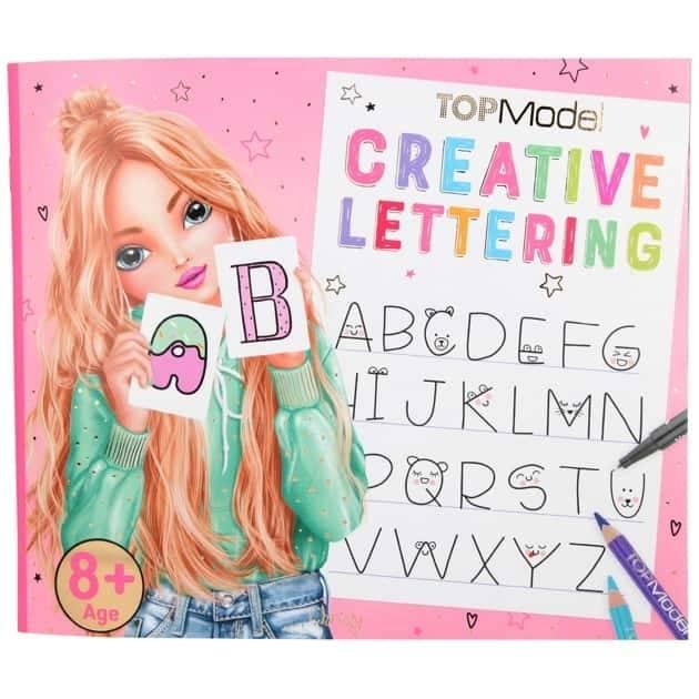 10903 a,Topmodel creative lettering kleurboek