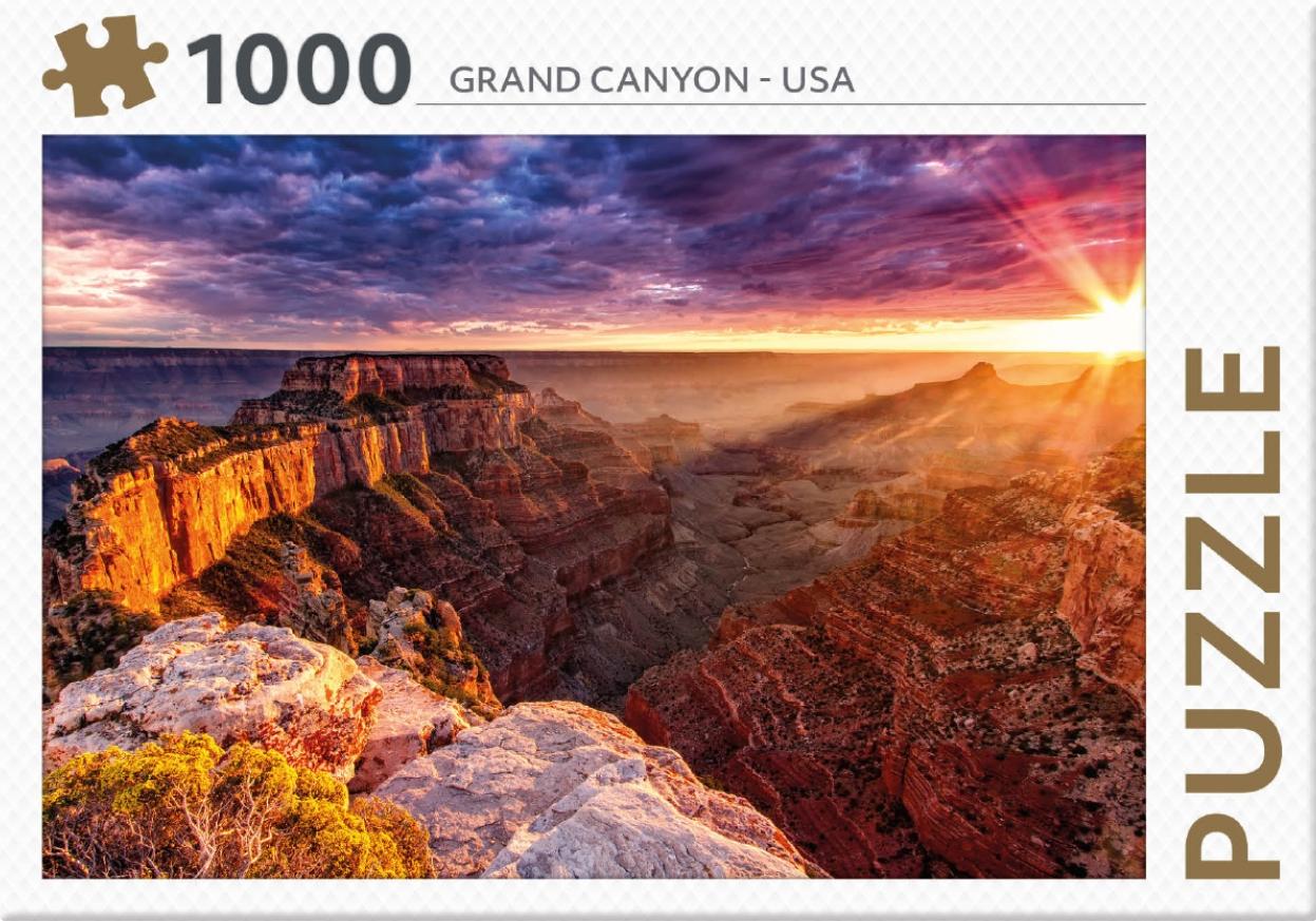 ,Rebo legpuzzel 1000 stukjes - Grand Canyon USA