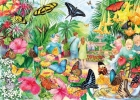 Gib-g6231 , Butterfly house - anne searle - gibsons puzzel - 1000