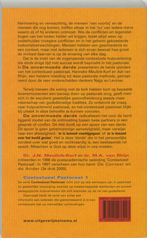 H. Meulink-Korf, A. van Rhijn,De onvermoede derde