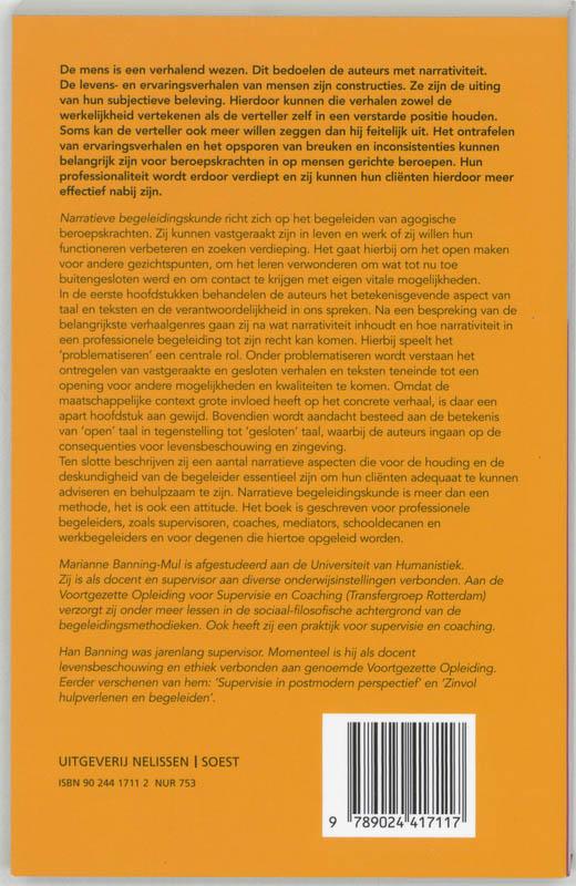 H. Banning, M. Banning-Mul,Narratieve begeleidingskunde