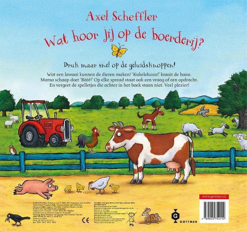 Axel Scheffler,Wat hoor jij op de boerderij?