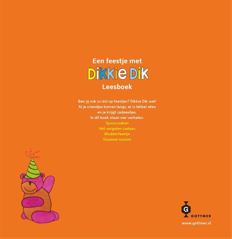Jet  Boeke,Een feestje met Dikkie Dik