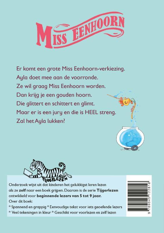 Edward van de Vendel,Miss Eenhoorn