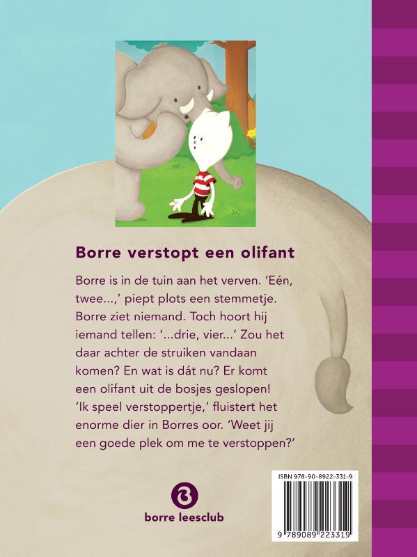 Jeroen Aalbers,Borre verstopt een olifant