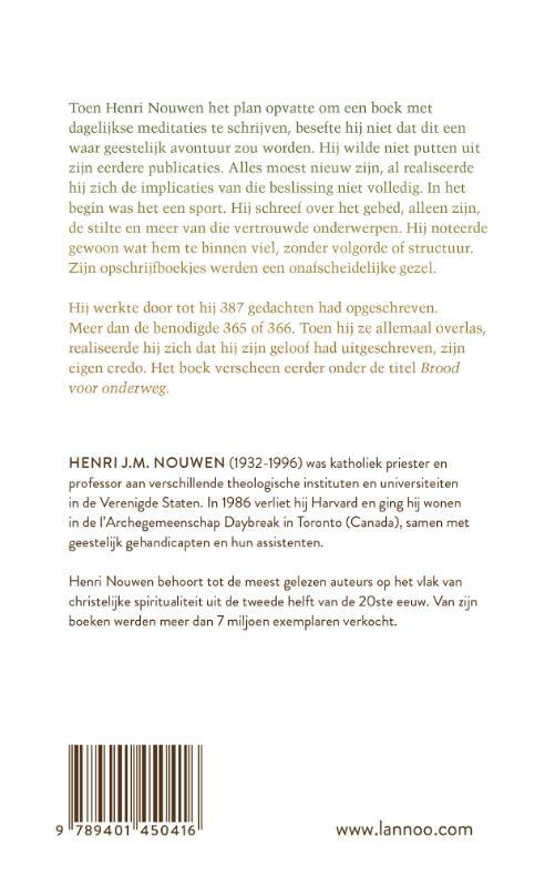 Henri Nouwen,Een jaar met Henri Nouwen
