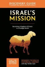 Vander Laan, Ray Israel`s Mission Discovery Guide