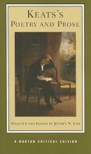 John Keats,   Jeffrey N. (University of Colorado at Boulder) Cox Keats`s Poetry and Prose